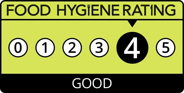 4-Star Food Hygiene Rating
